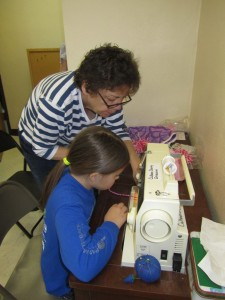 Sewing is much more than just making a garment or a bag, instead it is the vehicle to teach self-confidence through skill building.