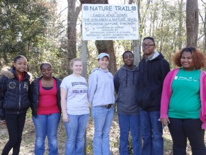 The Jefferson County Teen  Council  volunteer through out the year to  maintain  the 4-H Nature Trail