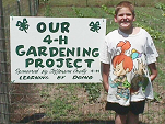 The 4-H gardening project teaches valuable science and life skills.