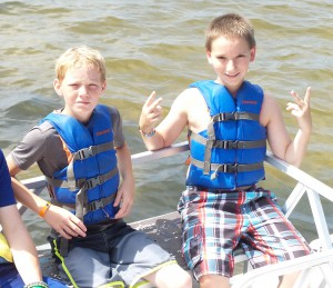 According to Florida law, youth ages 6 and under must wear a life jacket, but everyone can benefit from wearing one.  Photo credit Washington County Extension.