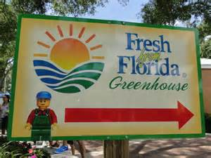 The Florida Department of Agriculture Greenhouse is a must-see attraction at LEGOLAND.
