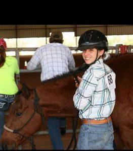 Trey is a graduating senior from the 4-H Buckaroos Horse Club