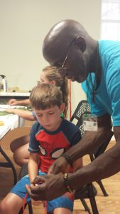 Nate Grimsley is known for teaching crafts at 4-H camp each year.