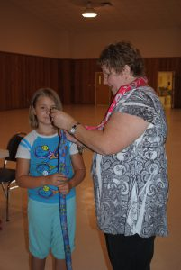 These DIY neck coolers are great to help youth learn about sewing AND science!
