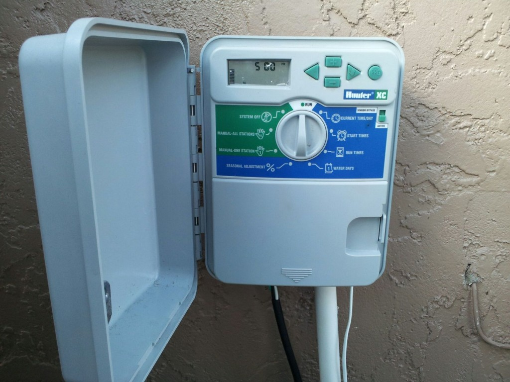 Home Irrigation Timer