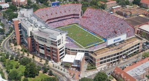 """Ben Hill Griffin Stadium or """"The Swamp"""" - http://www.gatorzone.com/facilities/?venue=swamp&sport=footb"""