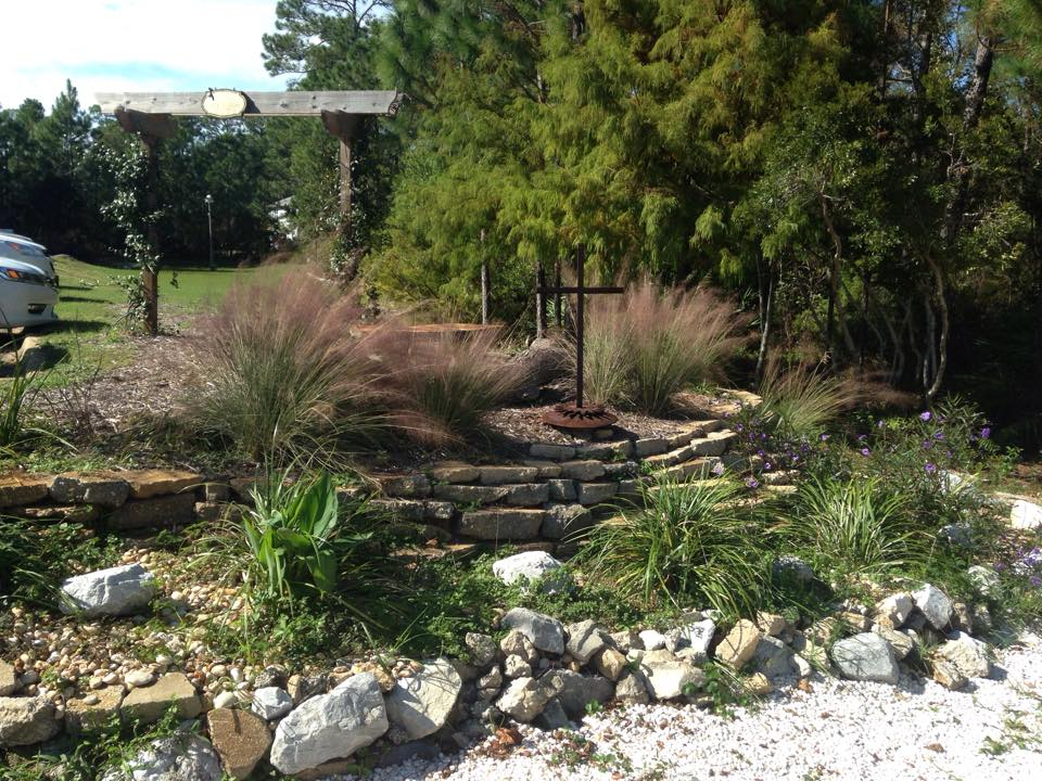 Rain Gardens - A Solution for Runoff - UF/IFAS Extension ... on rain garden swale, rain garden vegetation, rain garden hill, rain garden fence, rain garden belt, rain garden basin, rain garden culvert, rain garden box, rain garden building,