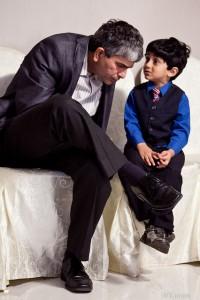 Child Talking to Parent