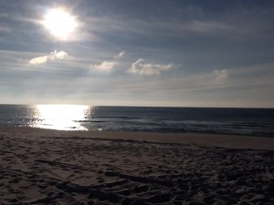The Gulf of Mexico at sunrise.  Photo: Rick O'Connor