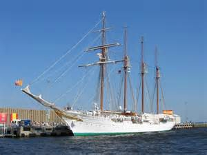 "The Spanish vessel Panfilo de Narvaez visits Gulf Coast ports frequently giving locals a feel for the ""old days"" of commerce. Photo: University of West Florida"