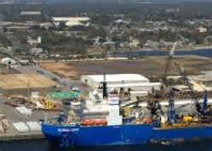 Port of Pensacola. one of the oldest on the Gulf Coast. Photo: University of West Florida