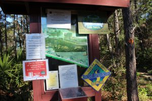 The Florida State Forest hiking trail system provides a lot of information about their trails that is very useful.