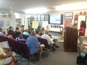 Dr. Monica Wilson, University of Florida Sea Grant, shares an update on the research that has occurred in the past five years since the Deepwater Horizon oil spill. Presented in the Rodeo Room at the Destin History and Fishing Museum.