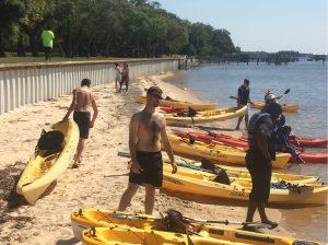 Kayaking Choctawhatchee Bay