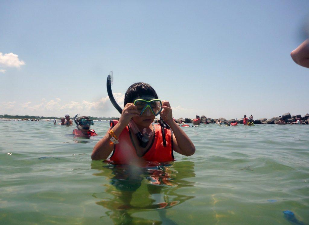 Properly Prepared Snorkeler