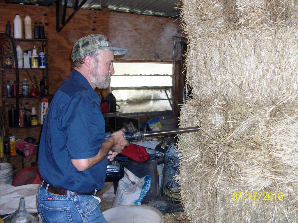 What's in your hay? A hay producer can better market their hay if they can show a potential buyer a forage analysis report.