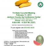 2013 Tristate Cucurbit Meeting Flyer-final