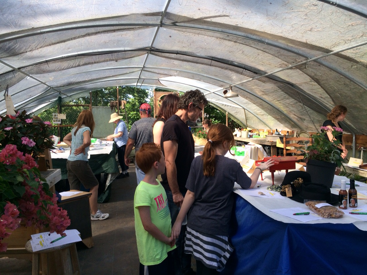 tomato feastival 2015 silent auction
